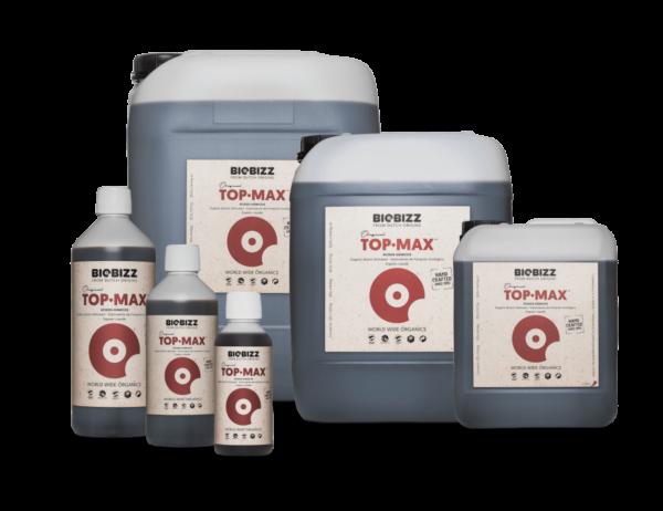 BioBizz Top-Max Nutrient Bottles