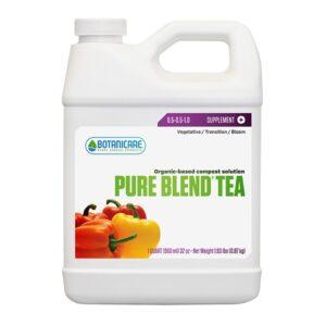 Botanicare Pure Blend Tea Quart (HGC732630) Nutrient Bottle