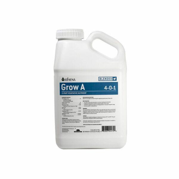 Athena Grow A 1 Gallon Nutrient Bottle