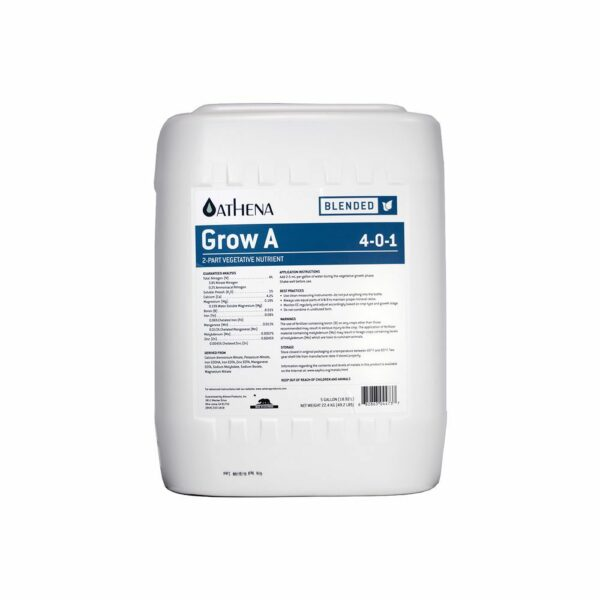Athena Grow A 5 Galones Botella de Nutrientes