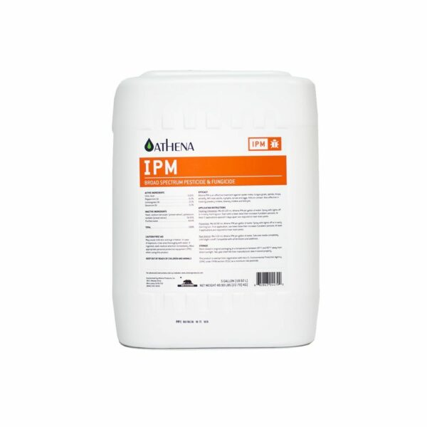 Athena IPM 5 Gallon Integrated Pest Management Insecticide Bottle