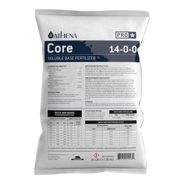 Athena Pro Core 25lb Fertilizer Bag