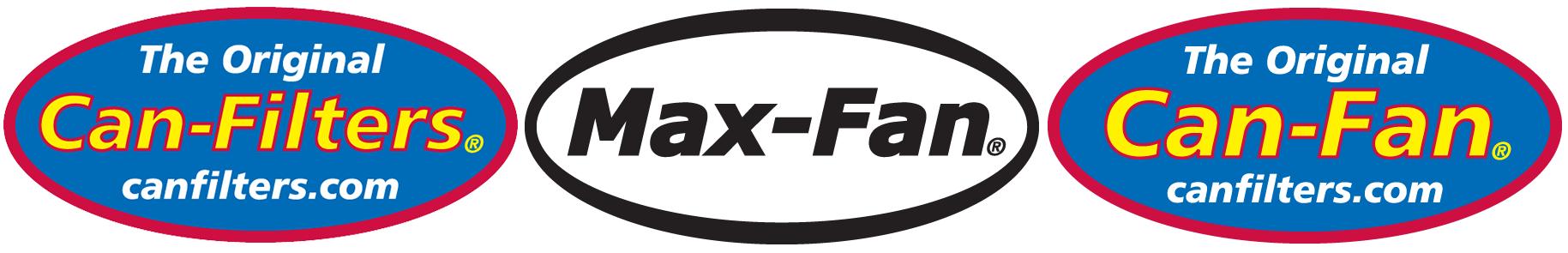Can-Filters Max-Fan Can-Fan Logos Banner