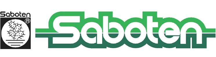 Saboten Logo White Background