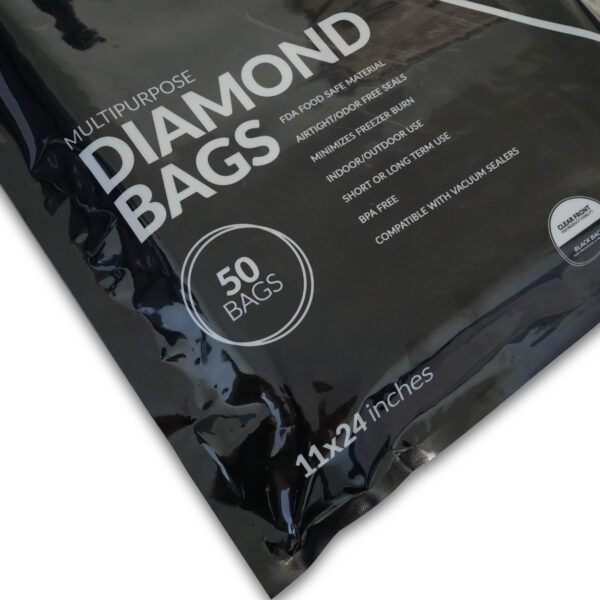 Sezons Vacuum Seal Bags 11 inch x 24 inch (50 Bags)