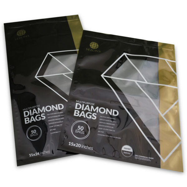 Sezons Vacuum Seal Bags 11x24 and 15x20