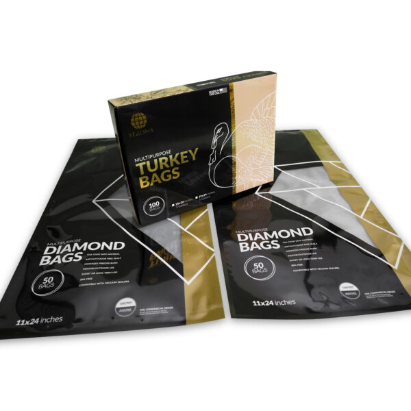 Sezons Vacuum Seal Bags and Turkey Bags